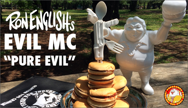 Ron English x BlackBook Toy:EVIL MC