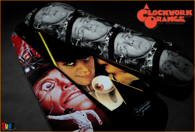 A Clockwork Orange Skate Decks
