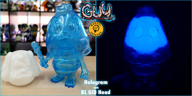 GUY:Hologram with BL GID head