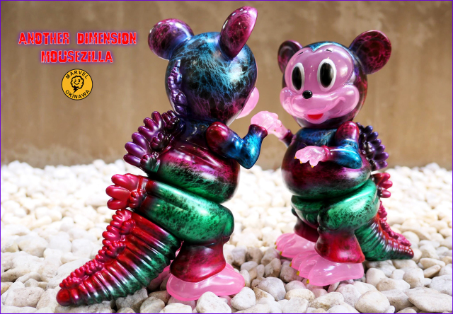 Another Dimension Mousezilla micro run by Marvel Okinawa