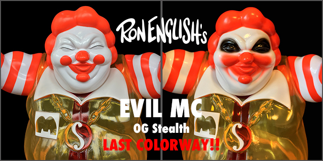 Ron English:EVIL MC OG Stealth