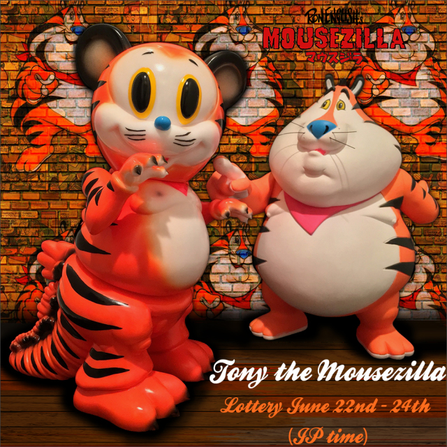 Ron English:Tony the Mousezilla