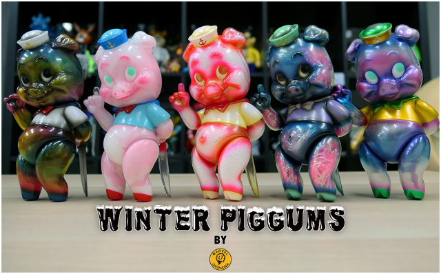 Winter Piggums by Marvel Okinawa Lottery