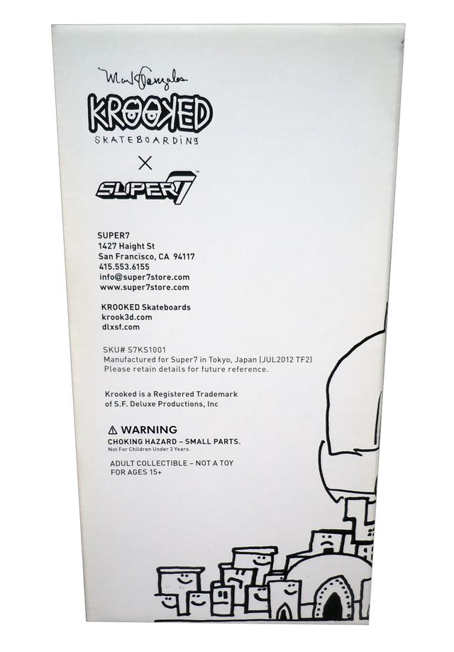 Mark Gonzales x SUPER7(マーク・ゴンザレス×スーパー7): The Priest(ザ・プリースト) 9インチ ソフビフィギュア