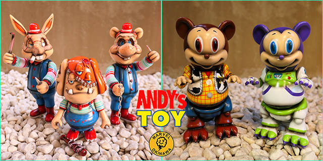 Andy's Toys one off by Marvel Okinawa