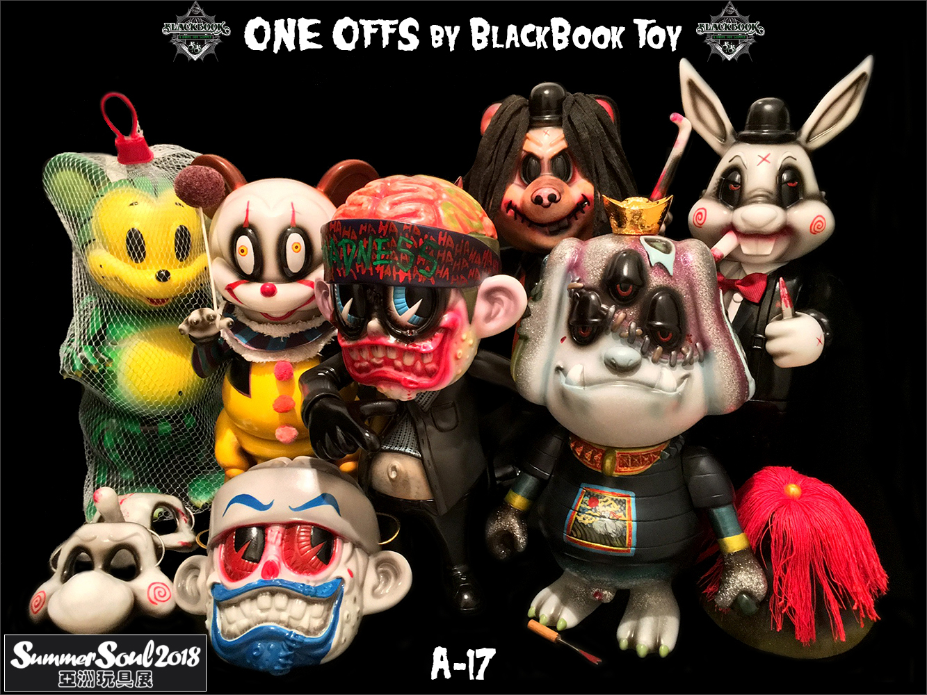 One Offs by BlackBook Toy for Summer Soul