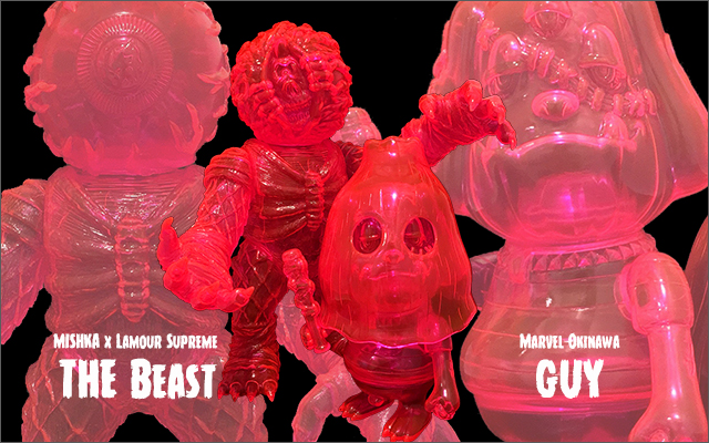 Clear Neon PK GUY&THE Beast Lottery