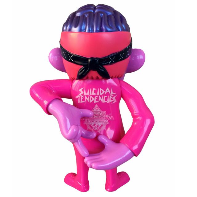 Suicidal Tendencies x BlackBook Toy(スイサイダル・テンデンシーズ) SKUM-kun 10インチフィギュア Cherry 1.0 Edition