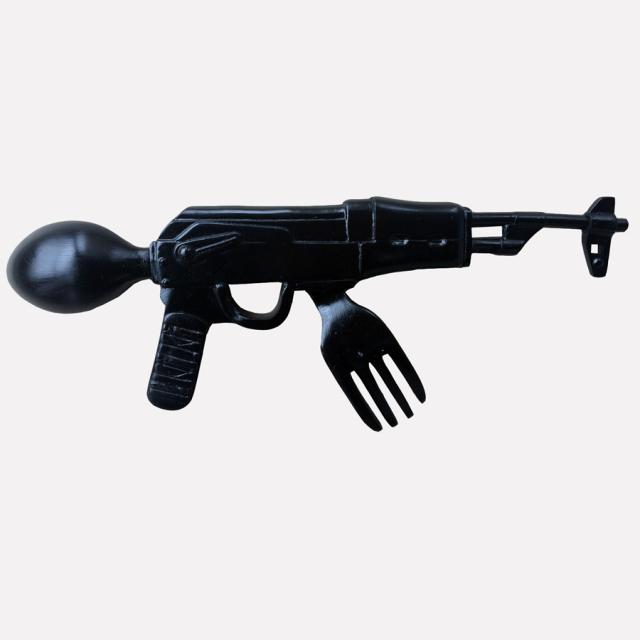 Ron English x BlackBook Toy( ロン・イングリッシュ) EVIL MC 16インチフィギュア Hella Evil Edition