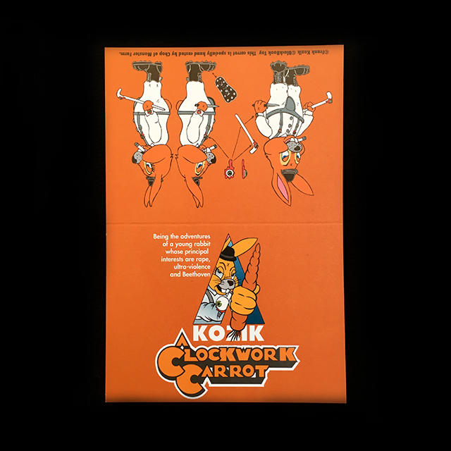 Frank Kozik x BlackBook Toy:A Clockwork Carrot Lil Alex 11インチフィギュア Bait Edition