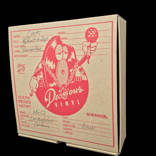 Delicious Vinyl x COOKone(デリシャス・ヴァイナルxクック):Mr.12(ミスター・トゥウェルブ) OG edition