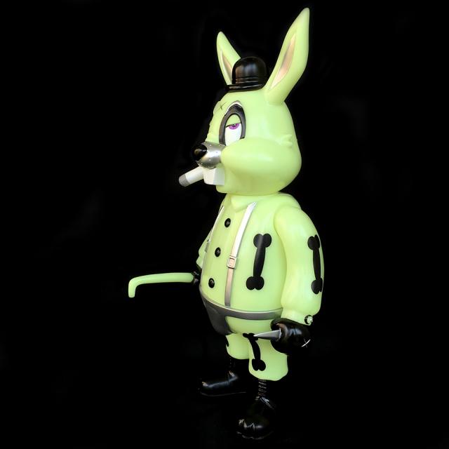 Frank Kozik x BlackBook Toy:A Clockwork Carrot Lil Alex 11インチフィギュア Graveyard Edition