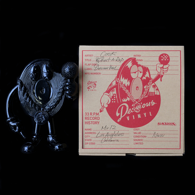 Delicious Vinyl x COOKone(デリシャス・ヴァイナルxクック):Mr.12(ミスター・トゥエルブ) Hot Off the Press edition