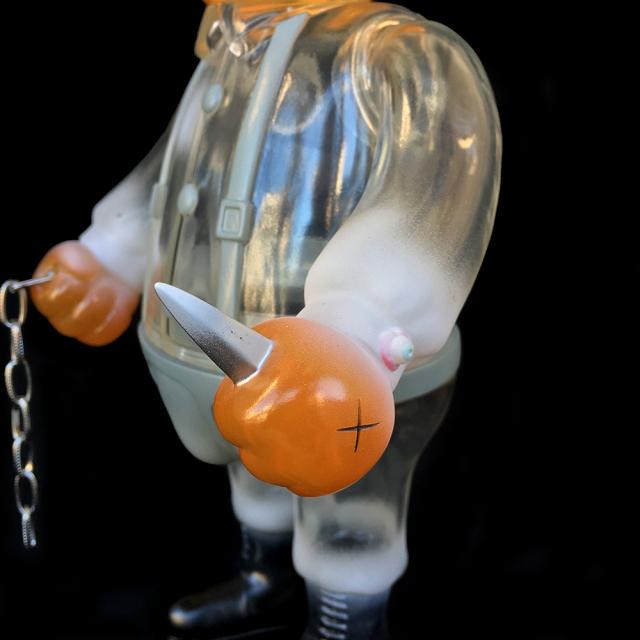 Frank Kozik x BlackBook Toy:A Clockwork Carrot Dim 11インチフィギュア Milk Edition