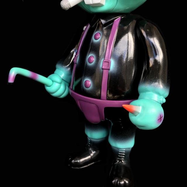 Frank Kozik x BlackBook Toy:A Clockwork Carrot Lil Alex 11インチフィギュア Devil Edition