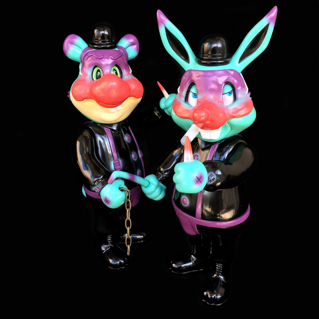 Frank Kozik x BlackBook Toy:A Clockwork Carrot Lil Alex 11インチフィギュア Devil Edition