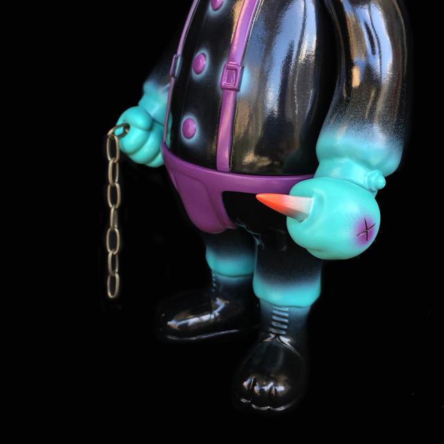 Frank Kozik x BlackBook Toy:A Clockwork Carrot Dim 11インチフィギュア Devil Edition