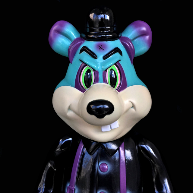 Frank Kozik x BlackBook Toy:A Clockwork Carrot Dim 11インチフィギュア Devil Edition