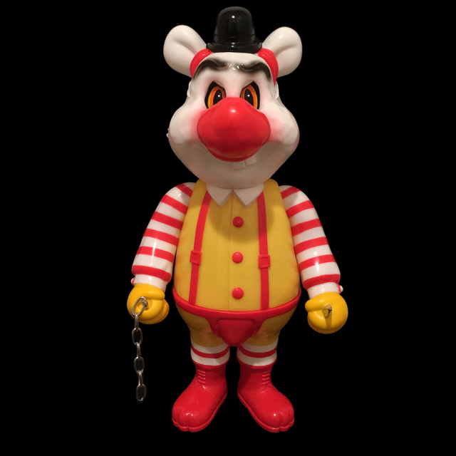 Frank Kozik x BlackBook Toy:A Clockwork Carrot MC Dim