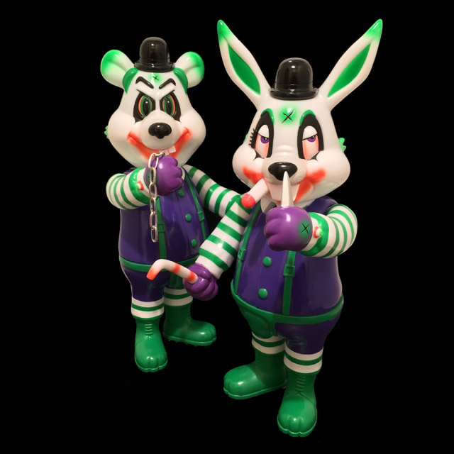 Frank Kozik x BlackBook Toy:A Clockwork Carrot MC CYCO Supervillain Lil Alex