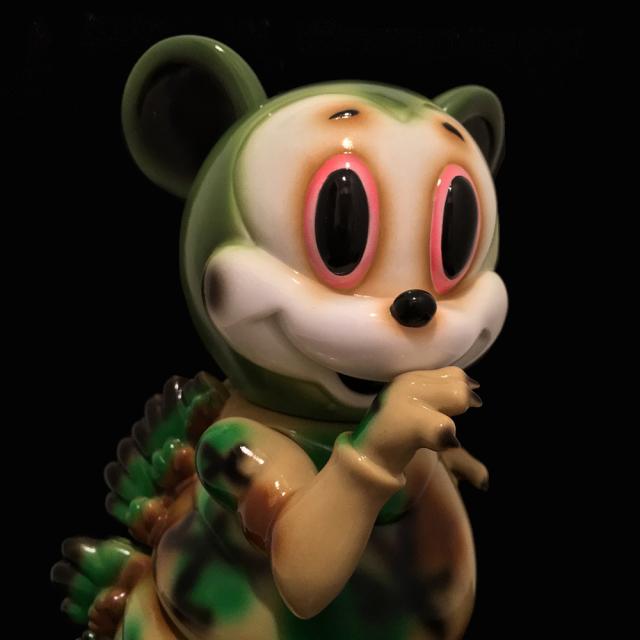 Ron English x BlackBook Toy( ロン・イングリッシュ) Mousezilla Camo