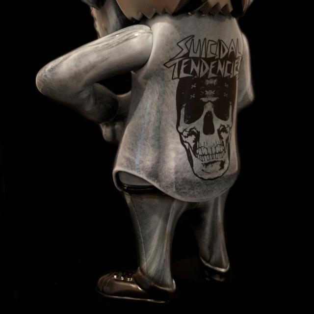 Suicidal Tendencies x BlackBook Toy(スイサイダル・テンデンシーズ) SKUM-kun 10インチフィギュア Stone