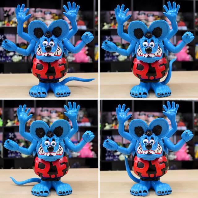 Magical Mosh Misfits x BlackBook Toy:Asura Rat Fink BL Fink