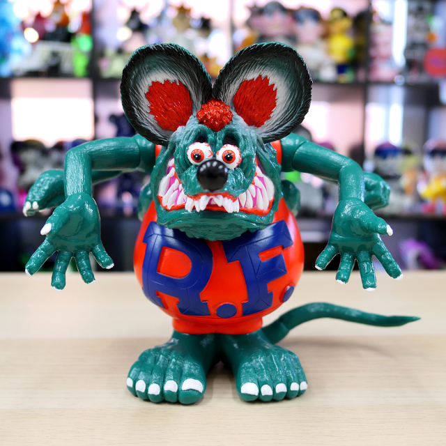 Magical Mosh Misfits x BlackBook Toy:Asura Rat Fink GIGI