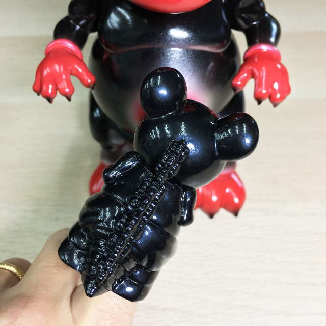 Ron English x BlackBook Toy( ロン・イングリッシュ) Mousezilla Red Devil with mini