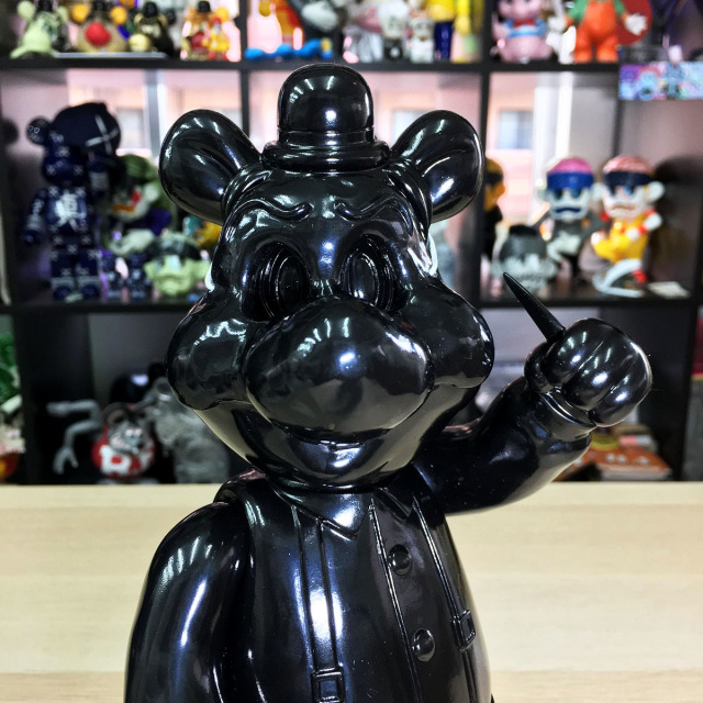 Frank Kozik x BlackBook Toy:Piggums, Lil Alex, Dim (not a set) Ninja