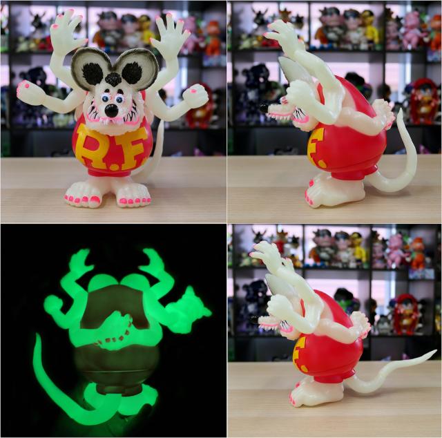 Magical Mosh Misfits x BlackBook Toy:Asura Rat Fink GID