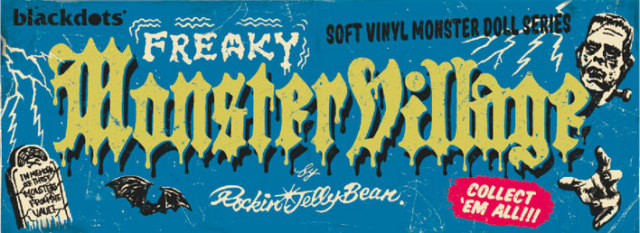 Rockin' Jelly Bean(ロッキンジェリービーン) Freaky Monsters Village