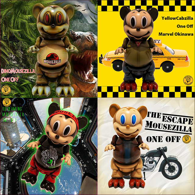 Movie Mousezilla one offs by Marvel Okinawa