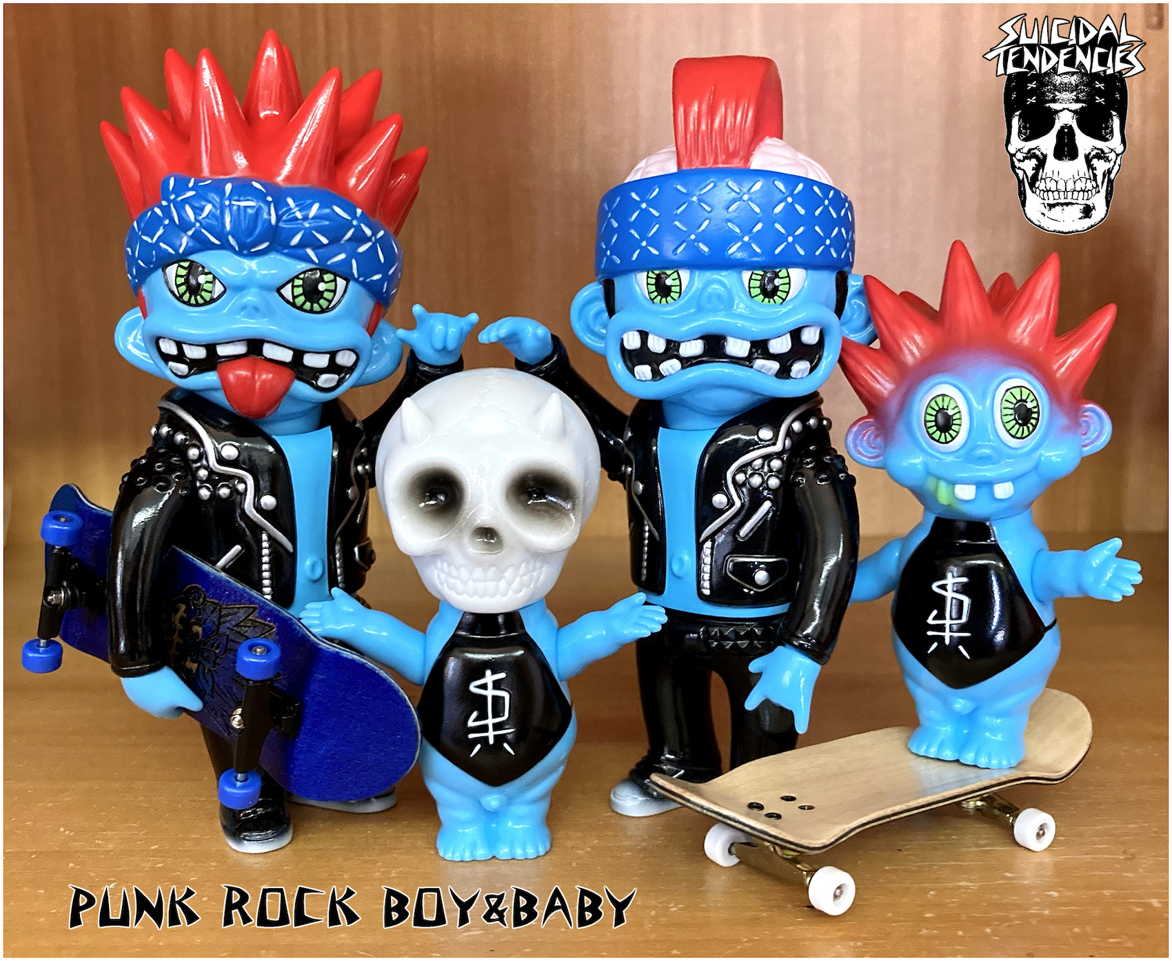 Suicidal Tendencies:SPIKY BOY and SKULL BABY Lottery