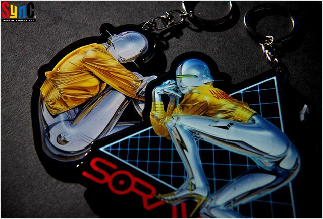 Hajime Sorayama:Sexu Robot acrylic key holders