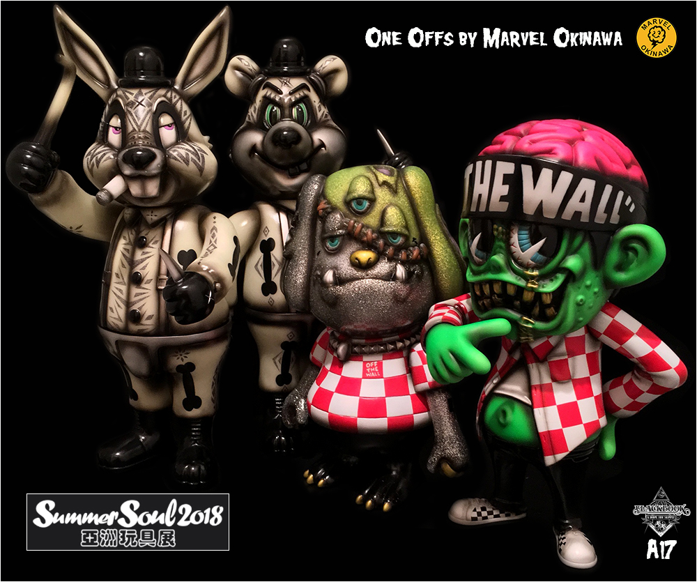 One Offs by Marvel Okinawa for Summer Soul